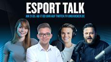 Zukunft DFB-ePokal: Leonie Zeyen und Laurent Burkard im kicker eSport Talk