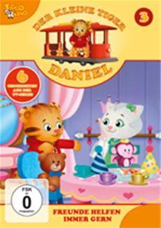 Der kleine Tiger Daniel: vier neue fantasiereiche CDs/DVDs