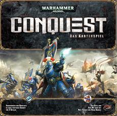 Der Krieg hat begonnen Warhammer 40k Conquest: Das Kartenspiel ist lieferbar!