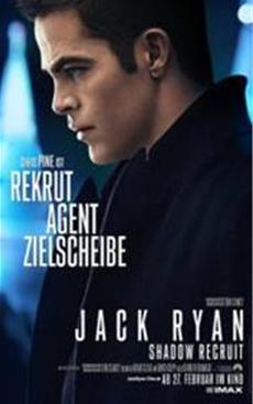 Der Rekrut, sein Mentor und sein Gegner: Pine, Costner und Branagh in JACK RYAN: SHADOW RECRUIT