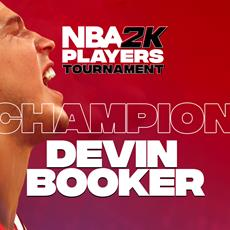 Devin Booker zum allerersten NBA 2K Players Tournament Champion gekrönt