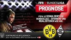 Die FIFA 12 Bundesliga Prognose: Borussia Dortmund kurz vor der Titelverteidigung?