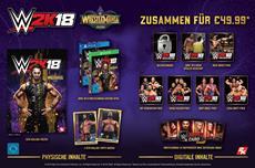 Die WWE<sup>&reg;</sup> 2K18: WrestleMania<sup>&reg;</sup> Edition ist jetzt verf&uuml;gbar
