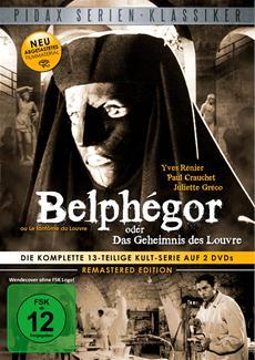 DVD-VÖ | Belphégor oder Das Geheimnis des Louvre (Remastered Edition) am 20.09.2013