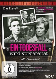 """DVD-Veröffentlichung des Krimiklassikers """"Ein Todesfall wird vorbereitet"""" am 23.08.2013"""