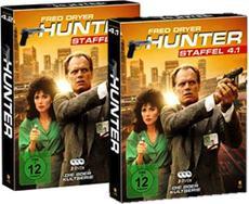 DVD/BD-VÖ   Starttermin-Verschiebung: HUNTER Staffel 4.1 und 4.2 ab 02.10. auf DVD!
