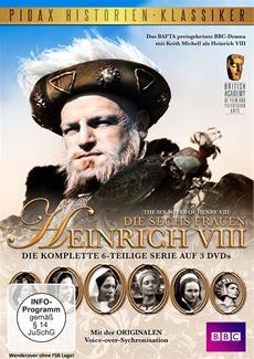 """DVD-Veröffentlichung der Historienserie """"Die sechs Frauen Heinrich VIII"""" am 03.04.2015"""