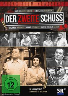 """DVD-Veröffentlichung des Kriminalfilms """"Der zweite Schuss"""" am 03.05.2013"""