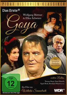 DVD-Veröffentlichung von Goya - Der komplette 2-Teiler - am 29.11.2013 auf DVD