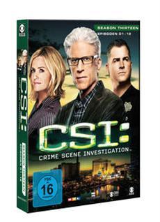 DVD-VÖ   CSI: LAS VEGAS - Season 13.1 & CSI: NY - Season 9.1 - ab 14. März 2014