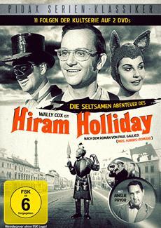 "DVD-VÖ | Die Kultserie ""Die seltsamen Abenteuer des Hiram Holliday"" erscheint am 05.07.2013"