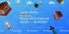 Einladung zu Twitch Rivals mit Formel 1-Star Lando Norris