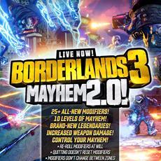 Endspiel-Verbesserungen und neues saisonales Event für Borderlands 3 jetzt verfügbar