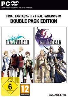 Final Fantasy III & IV sowie Final Fantasy VII & VIII ab sofort im Double Pack erhältlich