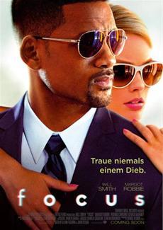 FOCUS: Mit Will Smith und Margot Robbie - ab 5. März 2015 im Kino