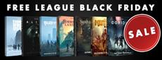 Free League Black Friday Sale - 50% OFF on Core Game Books!