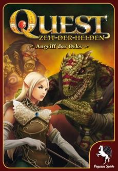Review (Gesellschaftsspiel): Quest: Angriff der Orks