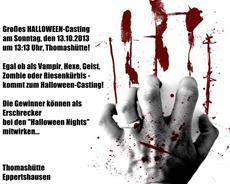 Großes Halloween-Casting