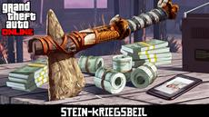 GTA Online: Stein-Kriegsbeil jetzt freischalten für Red Dead Redemption 2