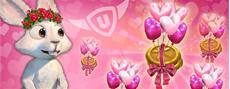 Herzen, Rosen und Pralinen - St. Valentin besucht upjers