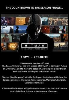 HITMAN   Der Trailer-Countdown zum Season Finale beginnt