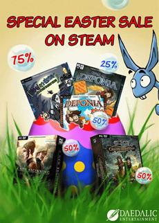 Indie-Woche: Spiele von Daedalic bis zu 75% günstiger auf Steam!