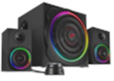 Jetzt kriegen die Augen was auf die Ohren: Speedlinks GRAVITY CARBON RGB bringt Farbgewitter zum Bassgedonner