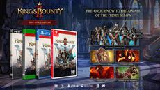 King's Bounty II: King Collector's Edition and pre-order details revealed
