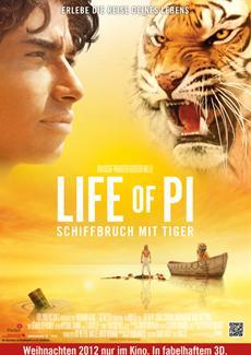 Regie-Oscar® für Ang Lee! LIFE OF PI ist Oscar®-Spitzenreiter 2013 mit vier wichtigen Auszeichnungen