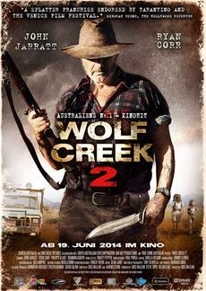 Kinostart | Deutscher Trailer zu Wolf Ceek 2 veröffentlicht (Kinostart 19. Juni 2014)