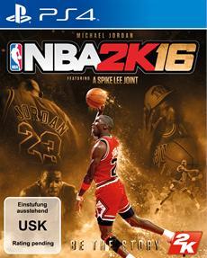 NBA<sup>&reg;</sup> 2K16 gewinnt NBA-Legende Michael Jordan f&uuml;r die Special Edition