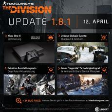 Neue Aktualisierung zum Tom Clancy's The Division mit Optimierung für XBox One
