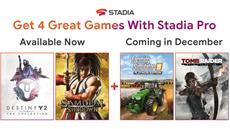 Neue Spiele für Stadia Pro im Dezember
