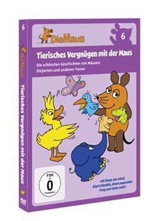 """Neue Themenspecials zur """"Sendung mit der Maus"""" auf DVD und CD"""