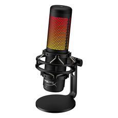 Neues QuadCast S USB-Mikrofon mit personalisierbaren RGB-Lichteffekten