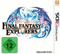 Final Fantasy EXPLORERS - Ab sofort exklusiv für Nintendo 3DS erhältlich