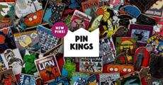 Numskull launches new Pin Kings Collection Featuring Legendary Movie & Gaming Brands