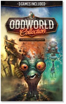 Oddworld: Collection for Nintendo Switch is now available!