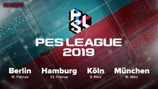 Offline-Events zur zweiten Saison der PES League 2019 in fünf deutschen Städten