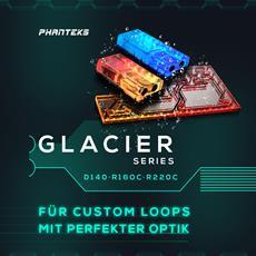 PHANTEKS Glacier D140 Distribution Plate, Glacier R220C & R160C Ausgleichsbehälter