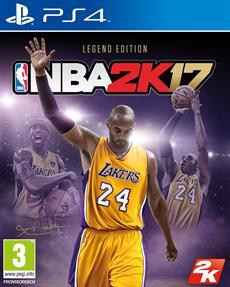Kobe Bryants Verm&auml;chtnis lebt weiter in der NBA<sup>&reg;</sup> 2K17 Legend Edition