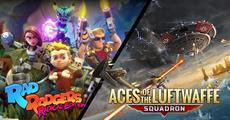 Rad Rodgers Radical Edition and Aces of the Luftwaffe Extended Edition out now
