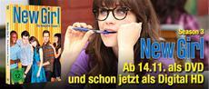 """Schräger Comedy-Spaß mit der dritten Staffel von """"New Girl"""""""