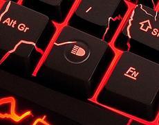 Spezielle Tastatur für Gamer