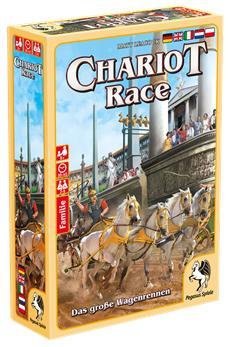 SPIEL'16 Preview: Furiose Wettrennen im alten Rom mit Matt Leacocks Chariot Race