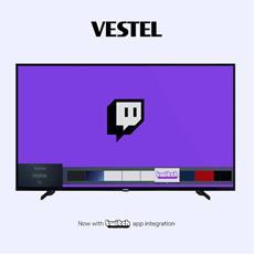 Twitch auf dem Fernseher - Multibrand-TV-Hersteller Vestel bringt Twitch auf Smart-TVs in ganz Europa
