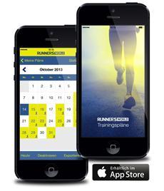 Vorbereitung leicht gemacht: RUNNER'S WORLD bringt neue iPhone-App mit mehr als 80 Trainingsplänen auf den Markt