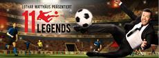 Weltfußballer Lothar Matthäus kickt jetzt bei 11 Legends