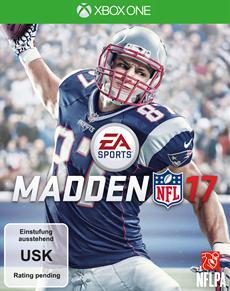 Rob Gronkowski ist MADDEN NFL 17 Coverstar
