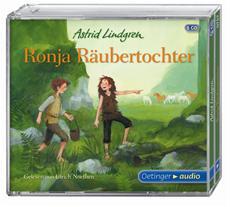 """Zum Donnerdrummel! - Ulrich Noethen liest """"Ronja Räubertochter"""" von Astrid Lindgren"""